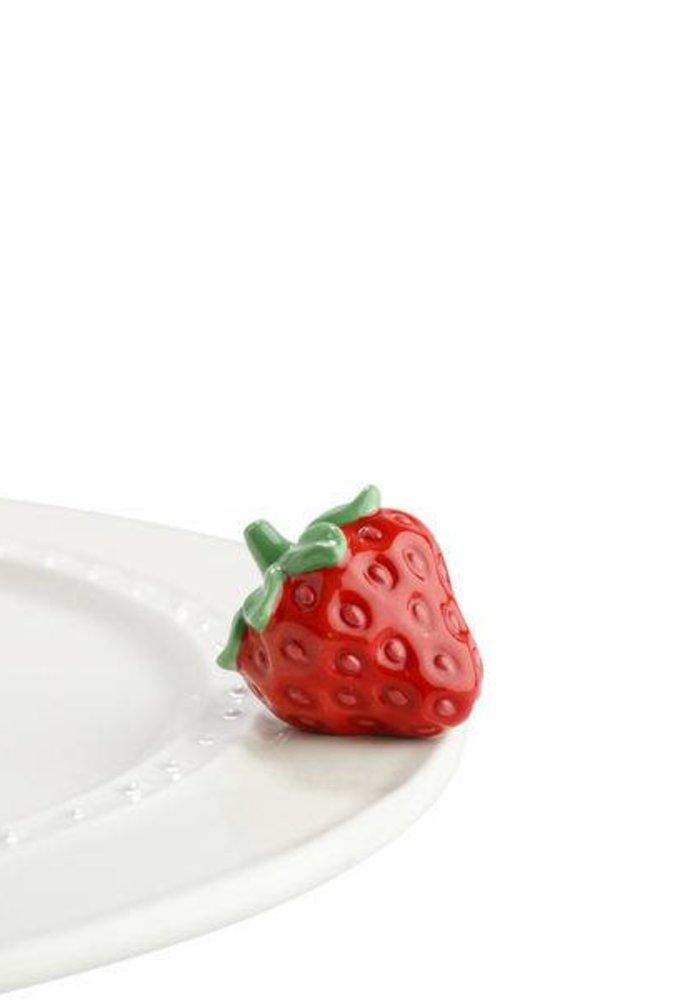 Juicy Fruit Strawberry Nora Fleming Mini
