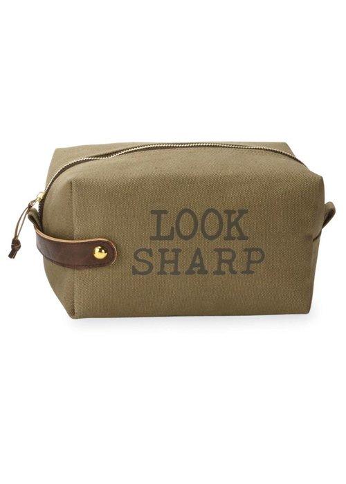 Mudpie Look Sharp Men's Dopp Kit