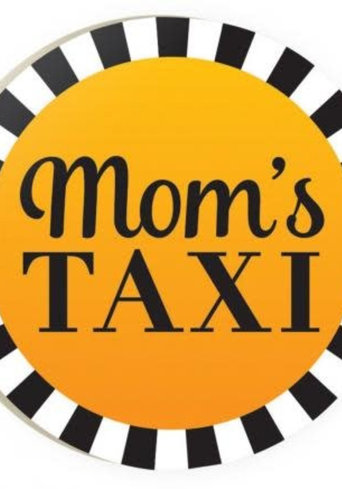 Mom's Taxi Red Car Coaster
