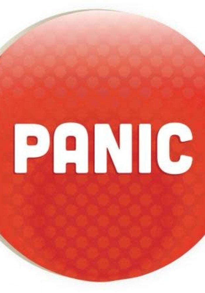 Panic Red Car Coaster