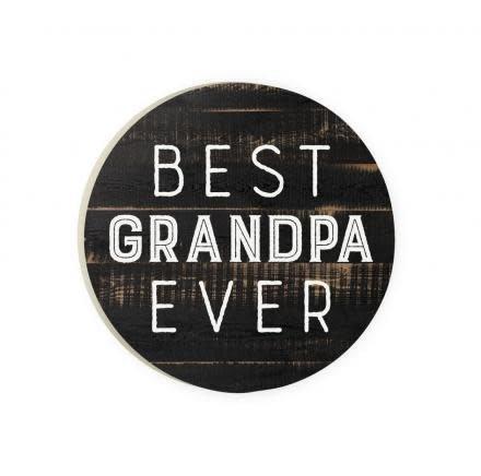 Best Grandpa Ever Red Car Coaster