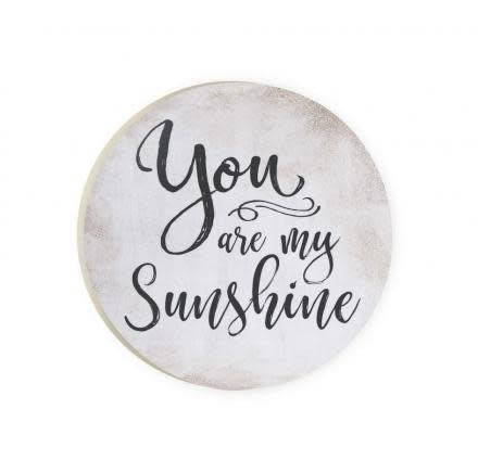 You Are My Sunshine Red Car Coaster