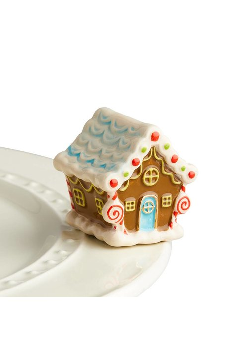 Nora Fleming Candyland Lane Gingerbread House Mini