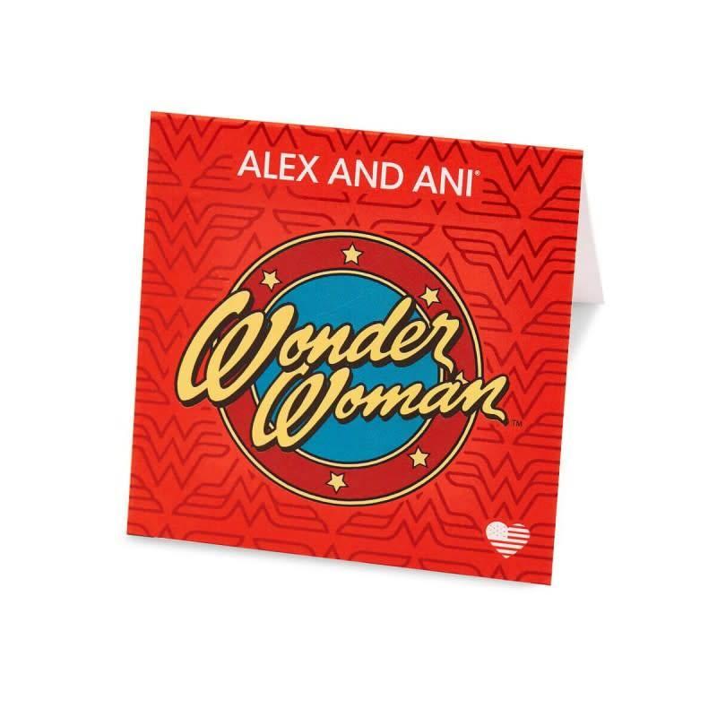 Alex & Ani Alex & Ani Wonder Woman Logo Gold
