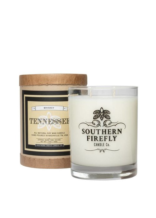 Southern Firefly Tennessee Whiskey 14oz Glass Candle