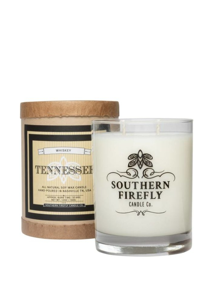 Tennessee Whiskey 14oz Glass Candle