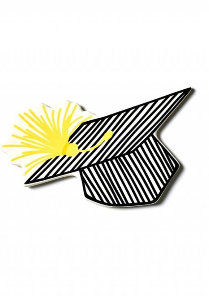 Mini Striped Grad Cap Attachment
