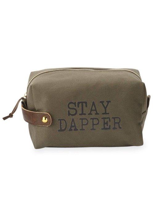 Mudpie Stay Dapper Men's Dopp Kit