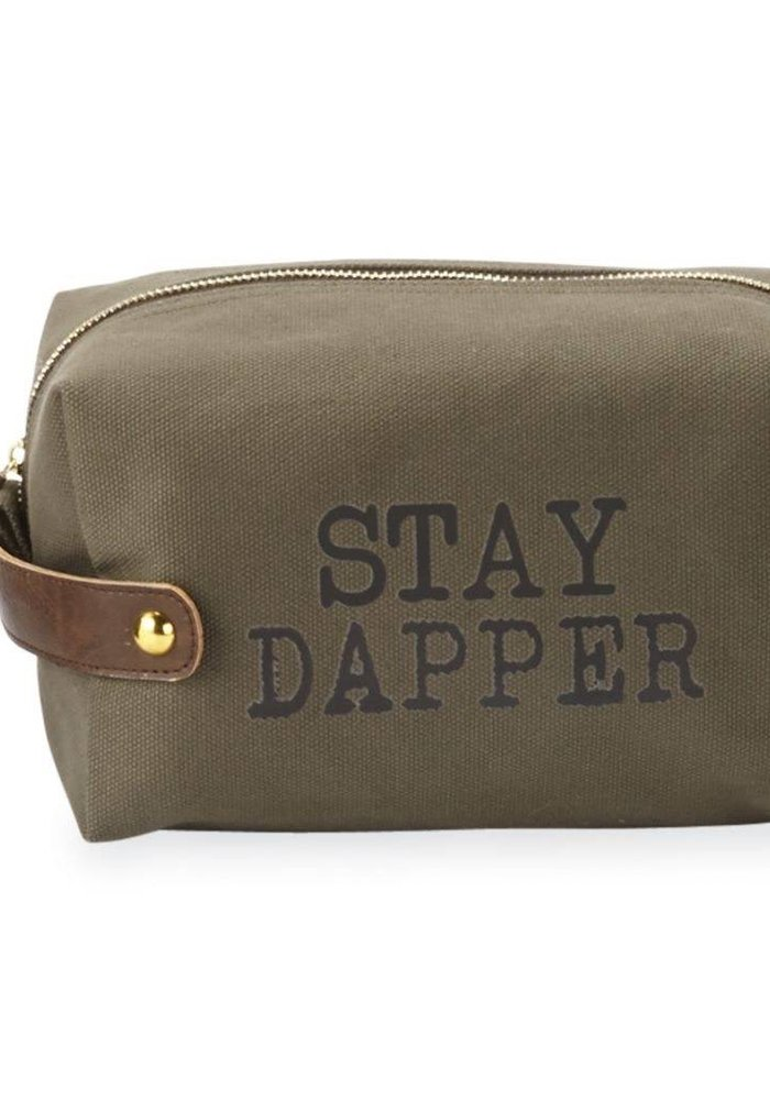 Stay Dapper Men's Dopp Kit