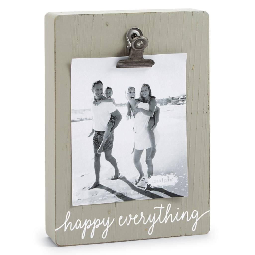 Mudpie Happy Everything Clip Block Frame