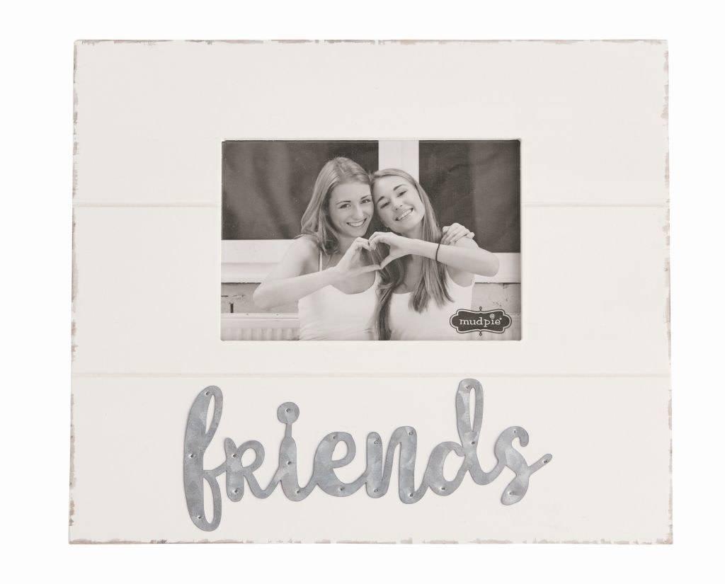Mudpie Friends Tin Frame