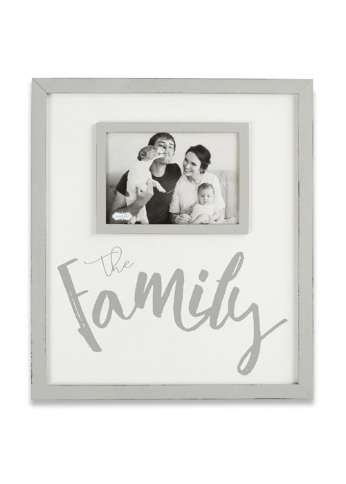 Mudpie The Family 4x6 Frame