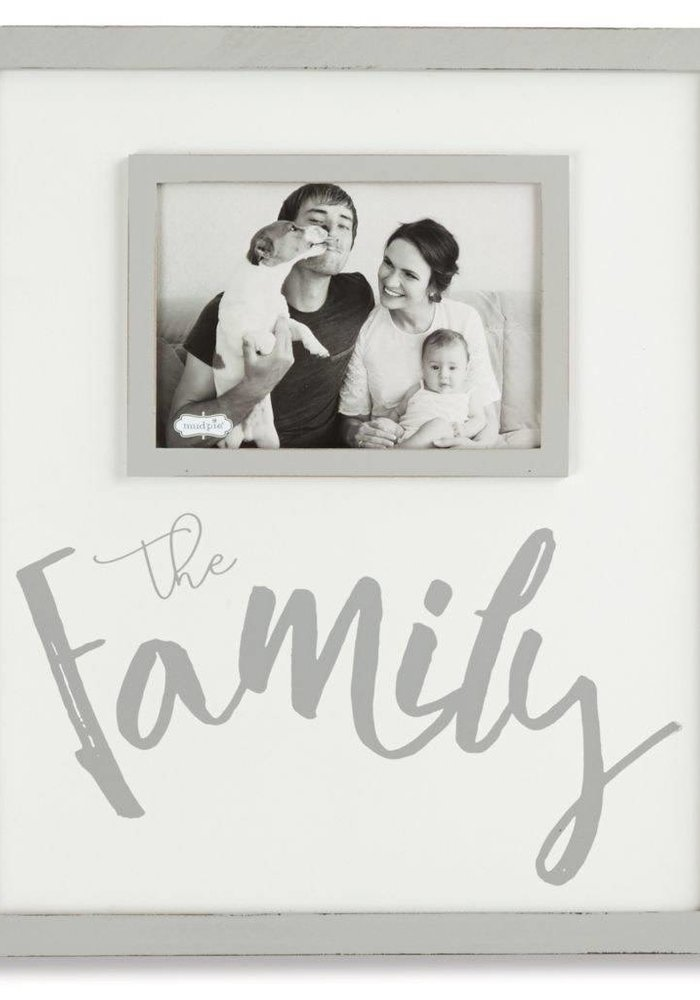 The Family 4x6 Frame