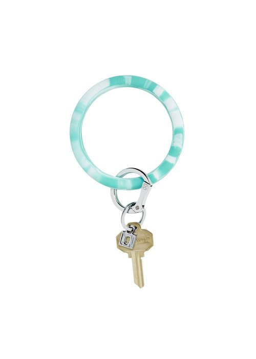 Oventure In The Pool Teal Marble Silicone Big O Ring