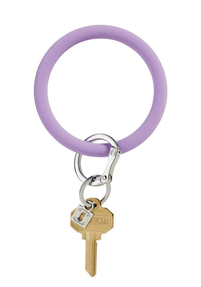 Silicone Big O Ring In The Cabana Purple