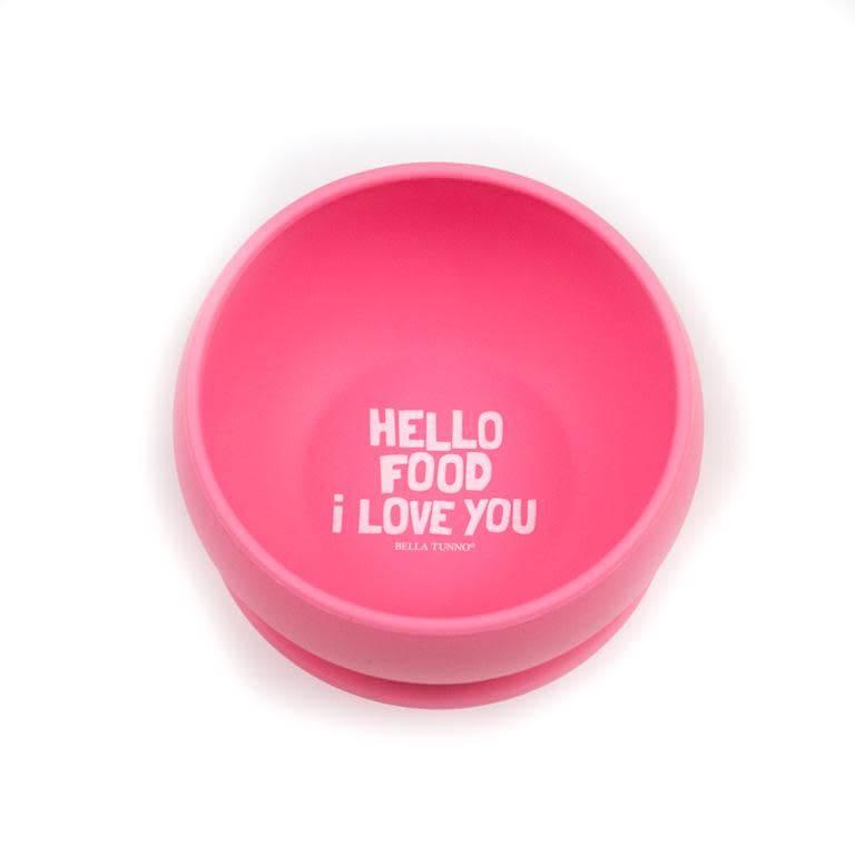 Bella Tunno Hello Food I Love You Wonder Bowl