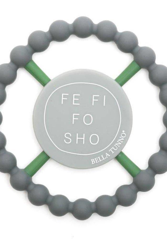 Fe Fi Fo Sho Happy Teether