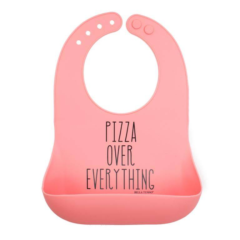 Bella Tunno Pizza Over Everything Wonder Bib