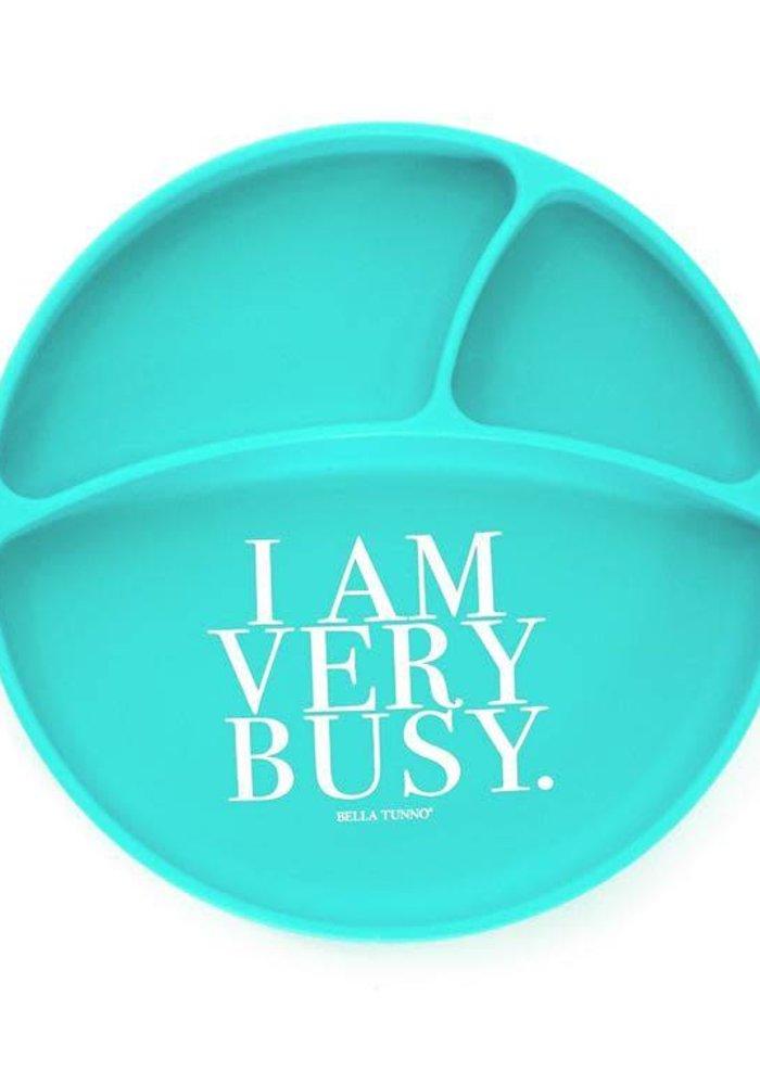 I Am Very Busy Wonder Plate