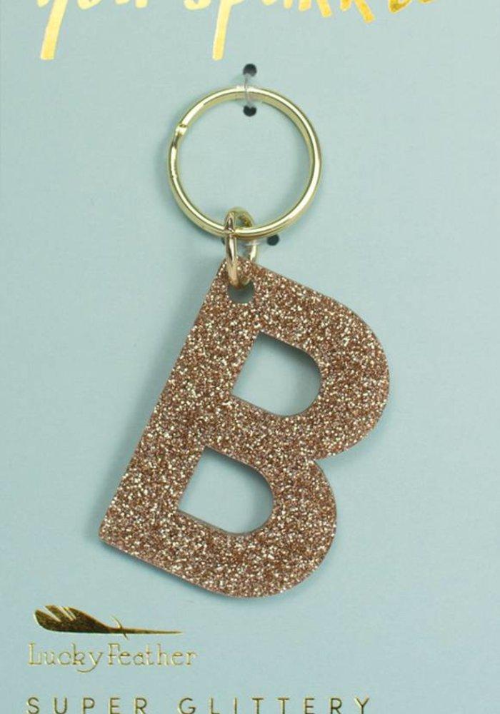 Glitter Keychain B