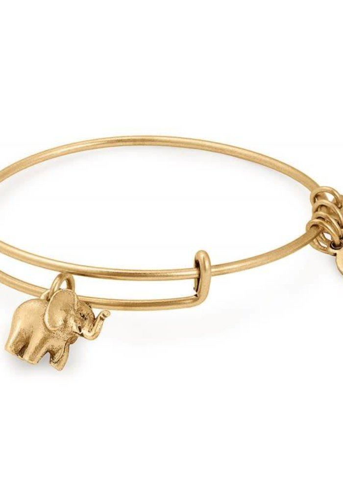 67b8cbb7b45 Alex   Ani Charity By Design Elephant Charm Bangle Gold - The Trendy ...