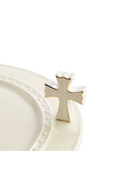 Nora Fleming White Cross Nora Fleming Mini