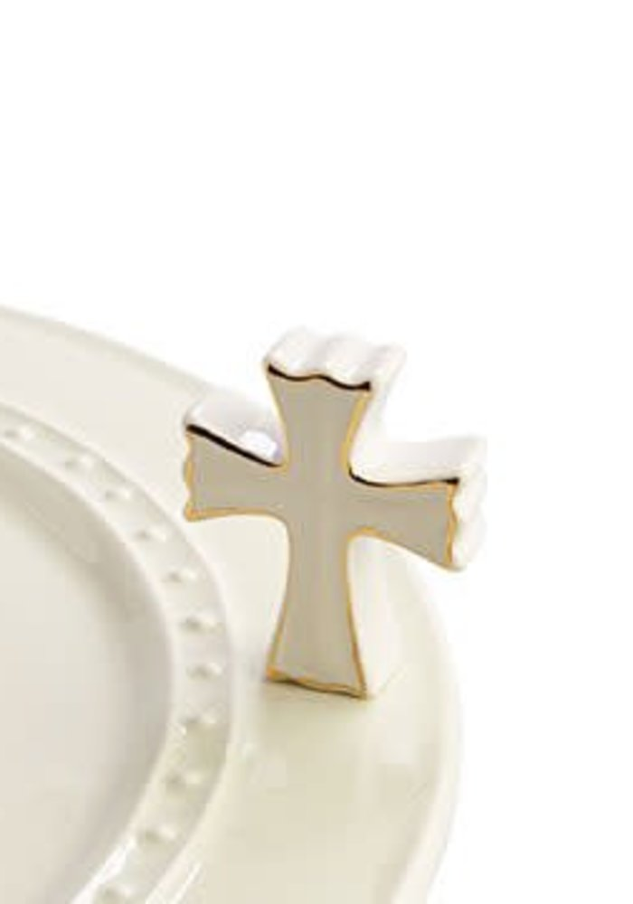 White Cross Nora Fleming Mini