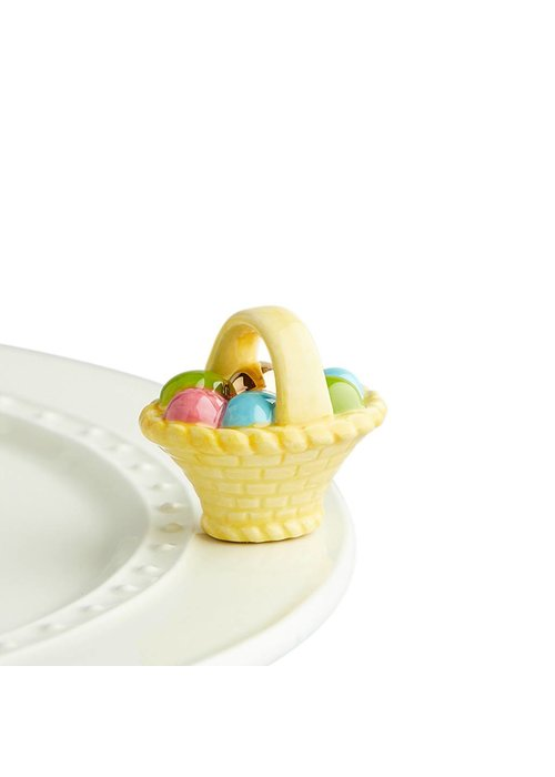 Nora Fleming A Tisket, A Tasket Easter Basket Nora Fleming Mini