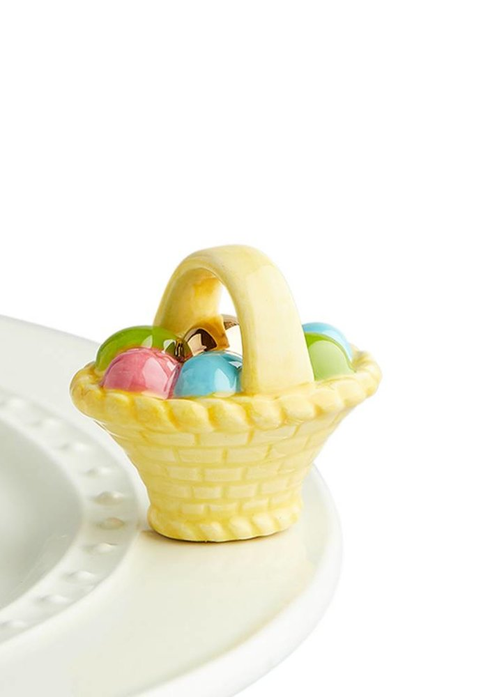A Tisket, A Tasket Easter Basket Nora Fleming Mini
