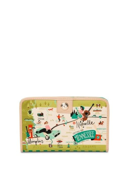 Spartina 449 Tennessee Snap Wallet