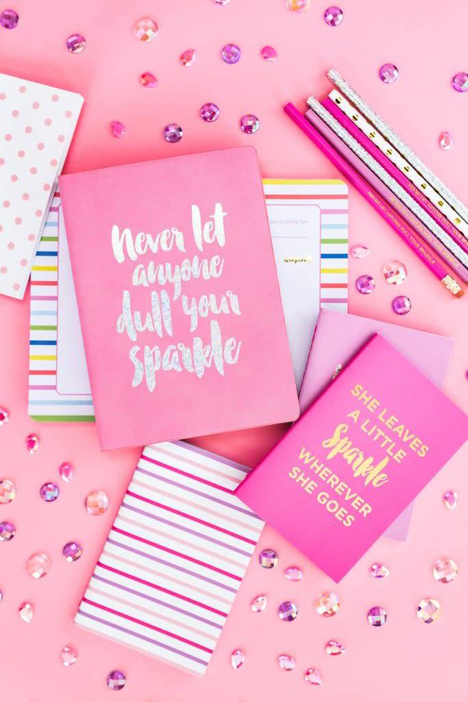 Never Let Anyone Dull Your Sparkle Notebook