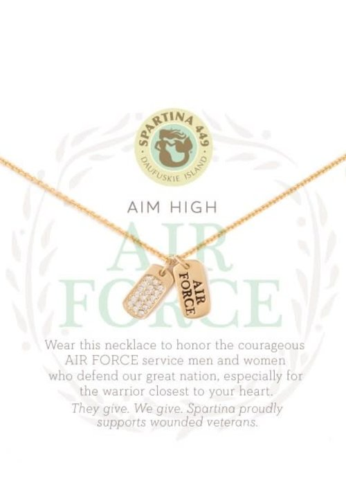 Spartina 449 Mermaids For Military Air Force Necklace