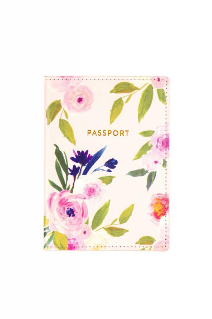 Floral Passport Case
