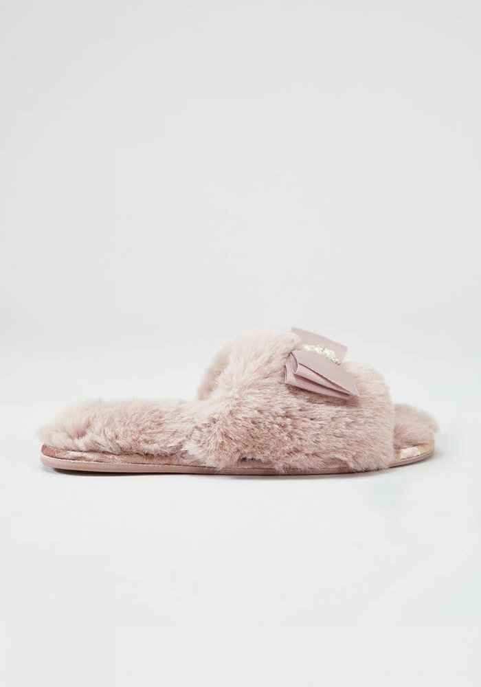 Anya Blush Slipper Sliders S/P