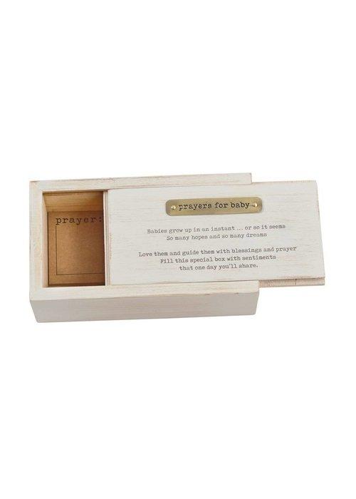 Mudpie Prayers For Baby Box w/Prayer Cards Set