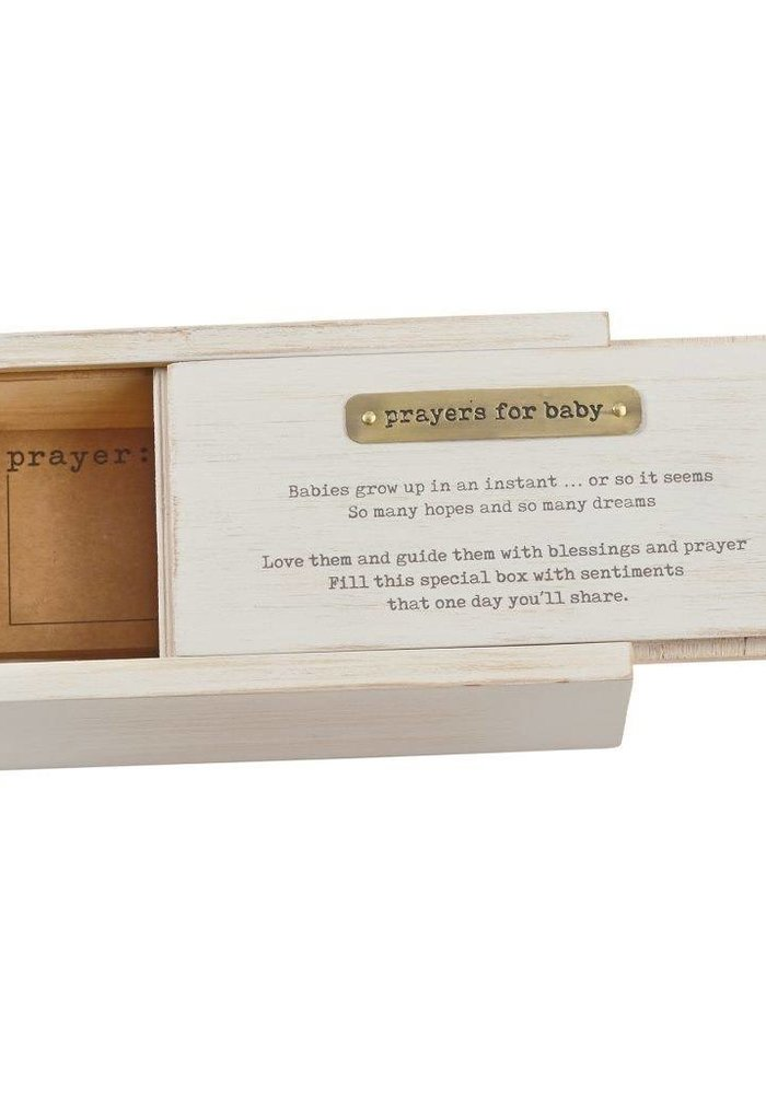 Prayers For Baby Box w/Prayer Cards Set