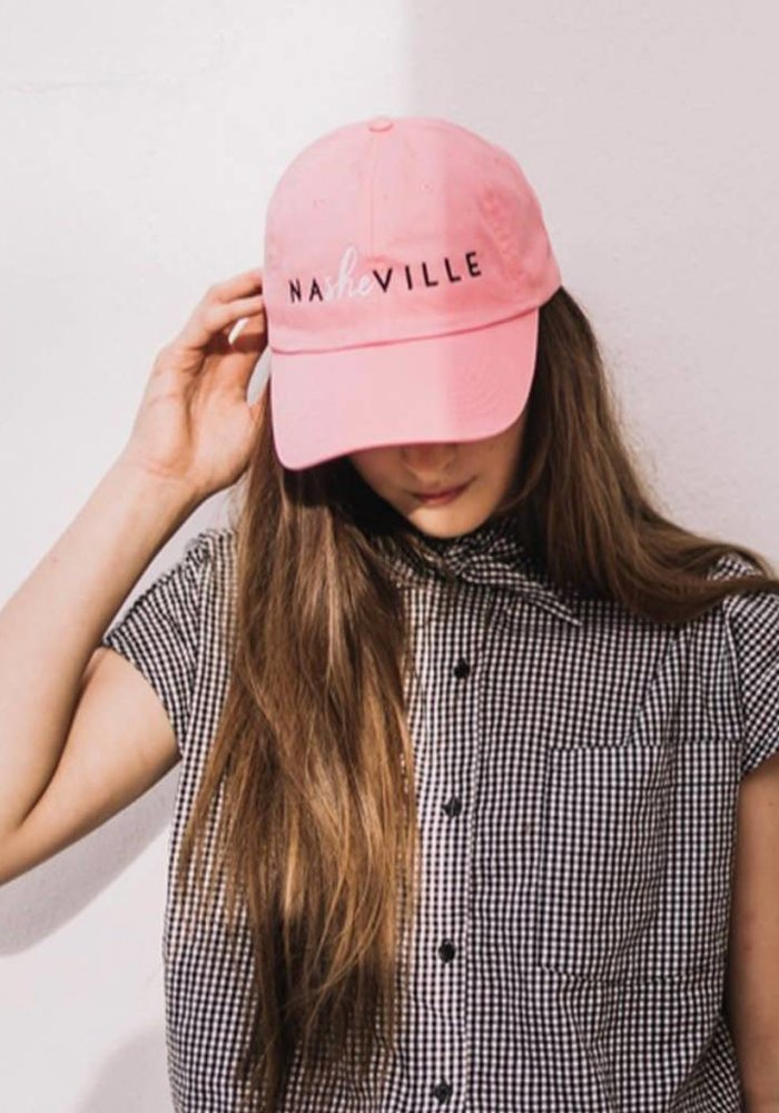 NaSHEville Pink Classic Baseball Hat