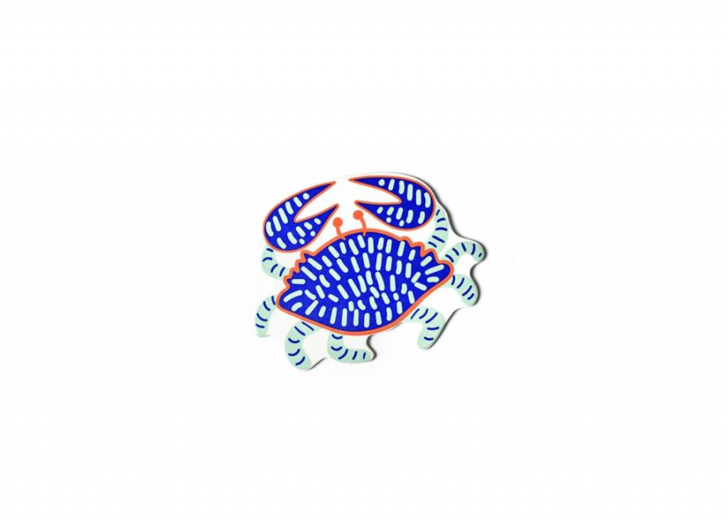 Happy Everything Blue Crab Mini Attachment