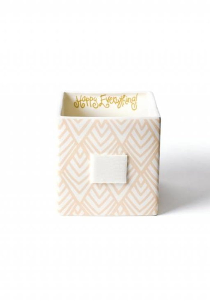 Layered Diamond Mini Nesting Cube Medium