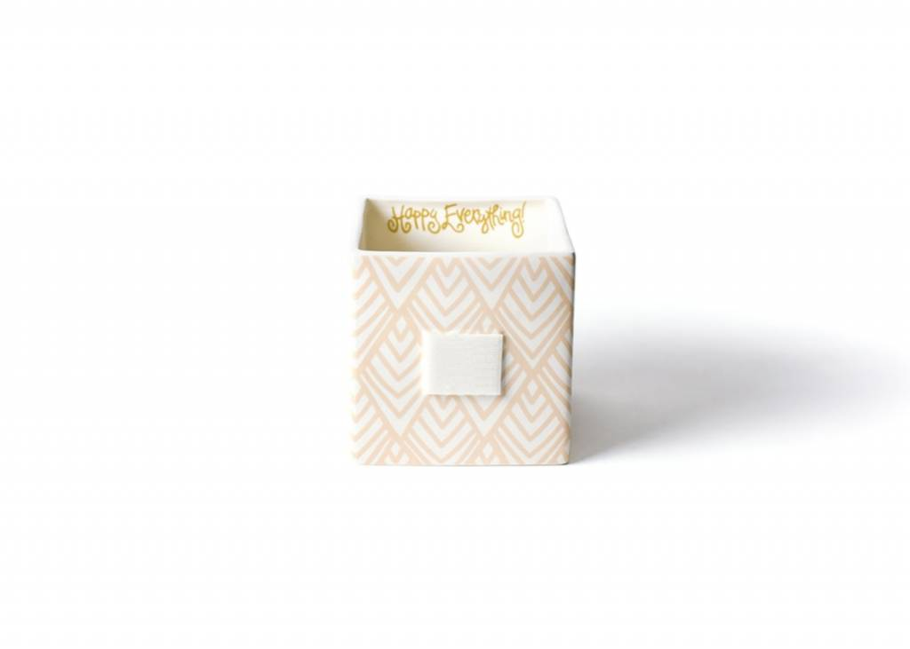 Happy Everything Layered Diamond Mini Nesting Cube Medium