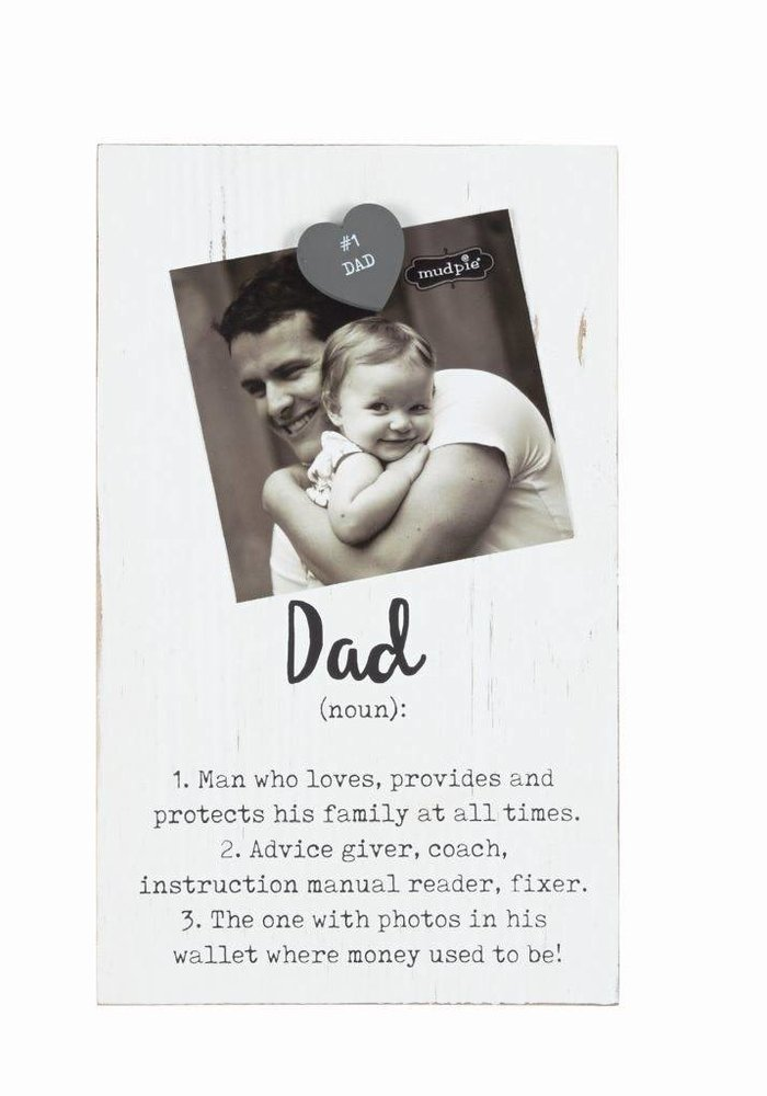 Dad Definition Magnetic Picture Frame