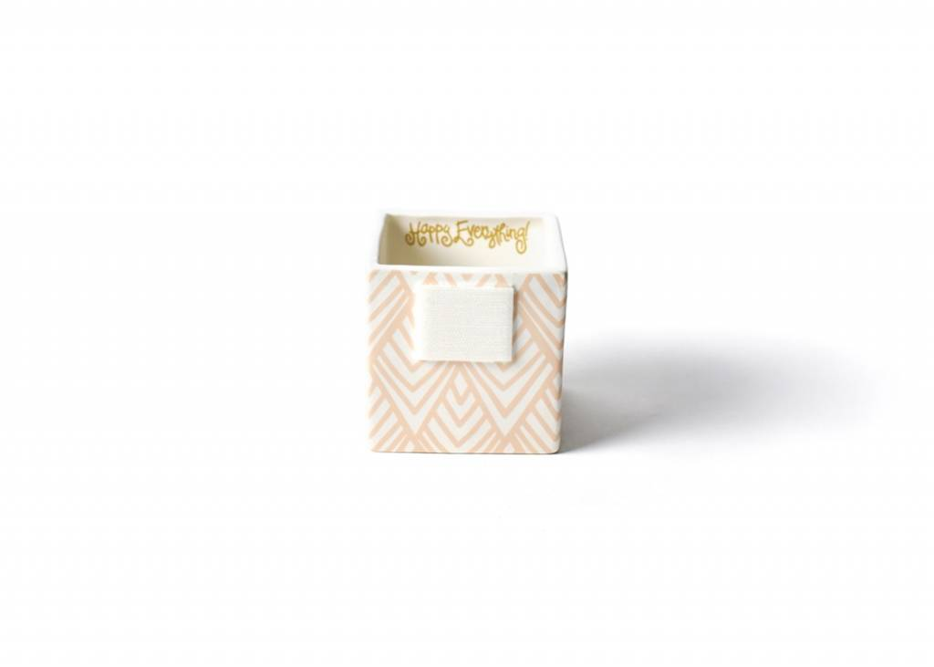 Happy Everything Layered Diamond Mini Nesting Cube Small