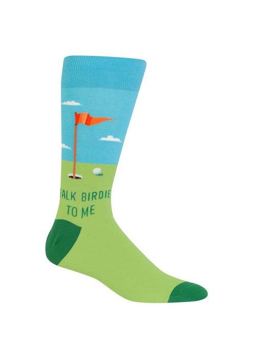 HotSox Talk Birdie To Me Crew Socks