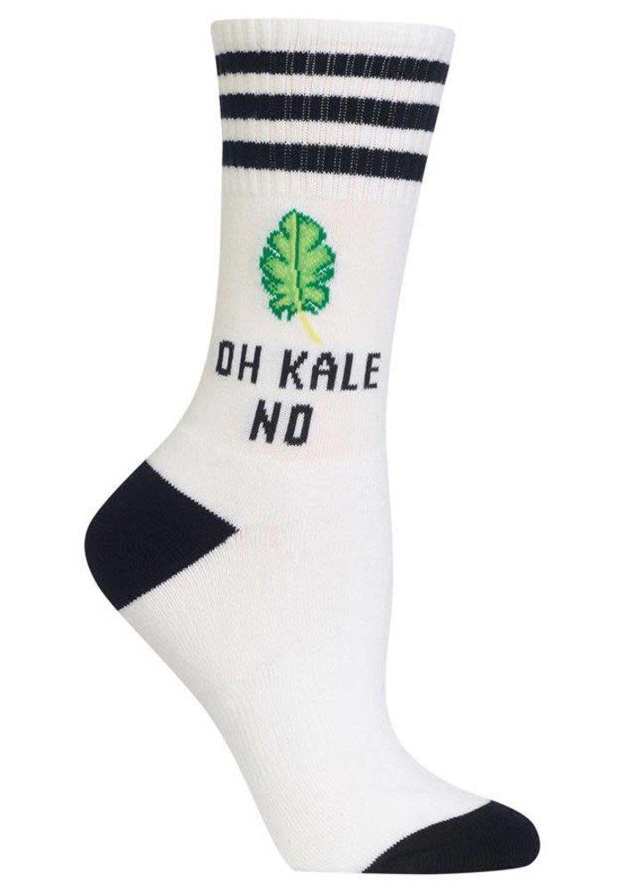 Oh Kale No Crew Socks