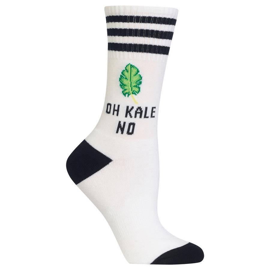 HotSox Oh Kale No Crew Socks