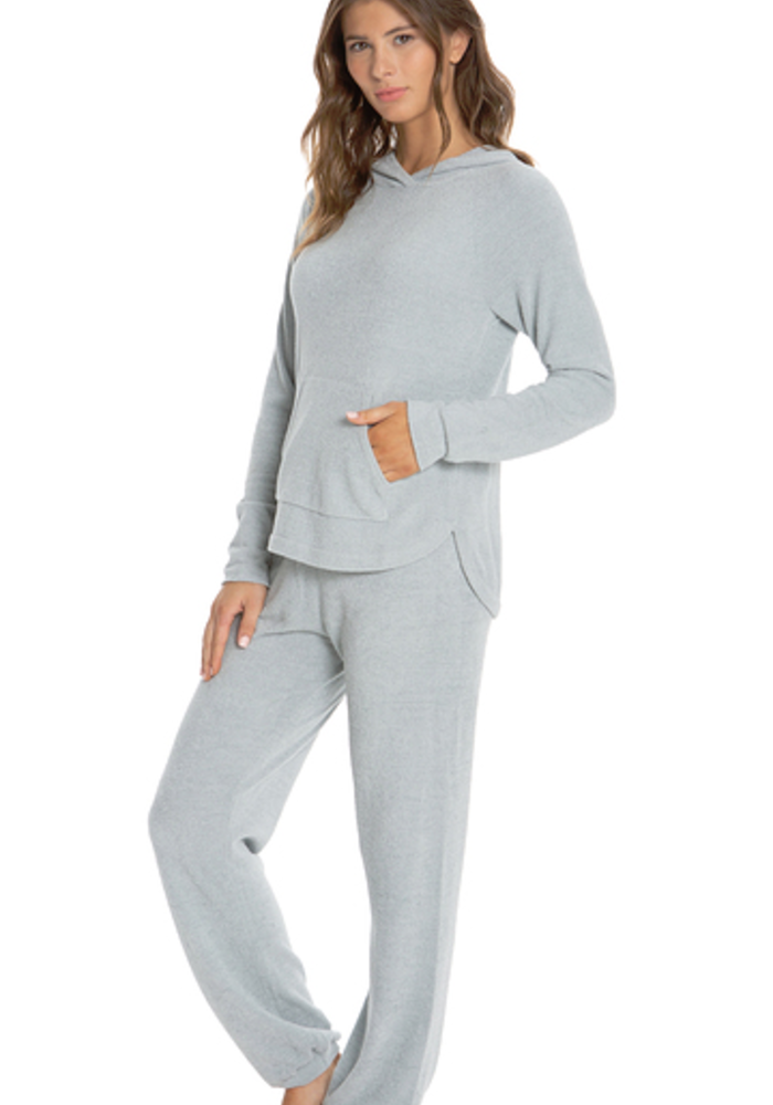 Cozychic Ultra Lite Pullover Hoodie Blue Water L