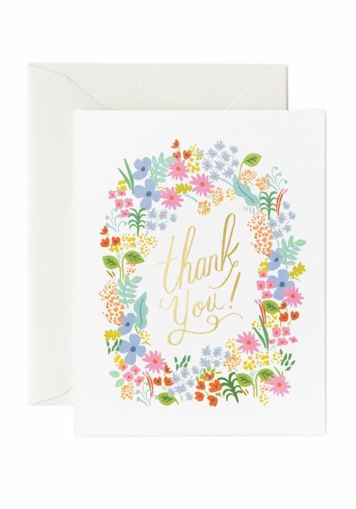 Prairie Thank You Card
