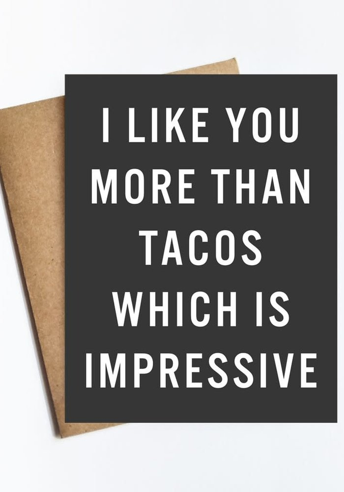 More Than Tacos Card