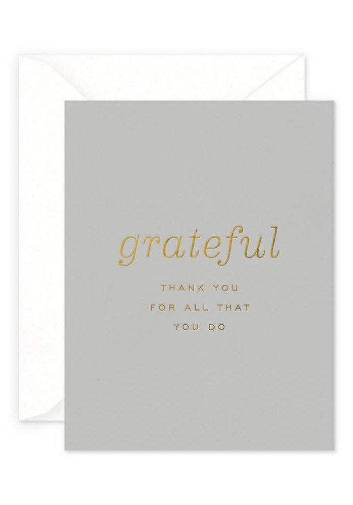 Grateful Card