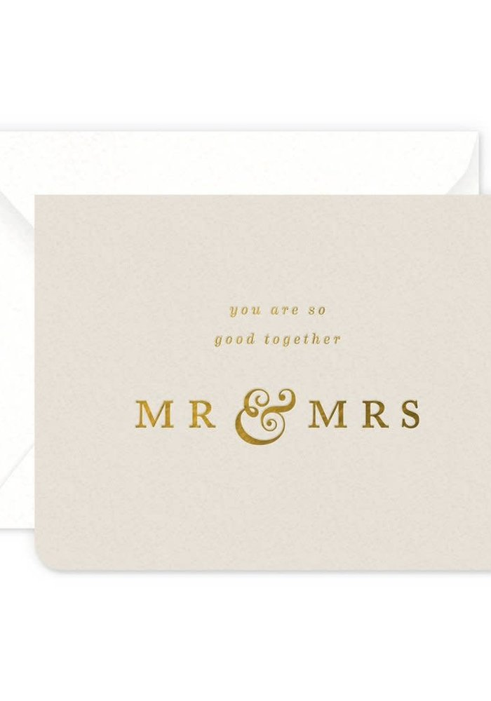 So Good Together Mr & Mrs Card